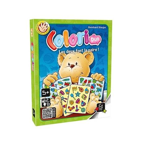 Colori Duo, Gigamic : un des premiers jeux d'observation pour les petits