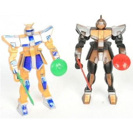 Robot articulé 11cm + accessoires
