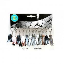 Porte clé chien 5-7 cm
