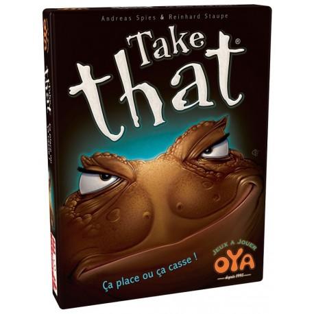 Take That, éditions Oya est un jeu de cartes simple, rapide et fun !