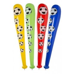 batte gonflable, colori football