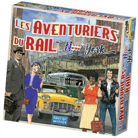 Les Aventuriers du Rail, New York, Days of Wonder