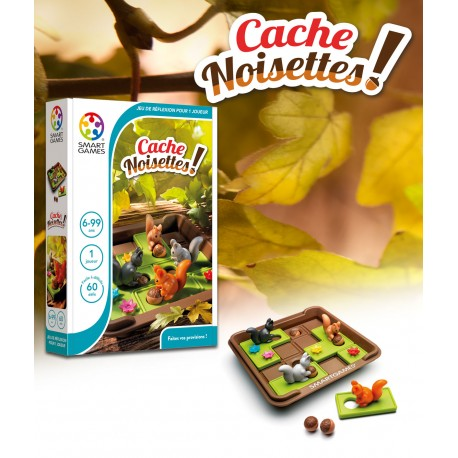 Cache Noisettes ! Smart Games