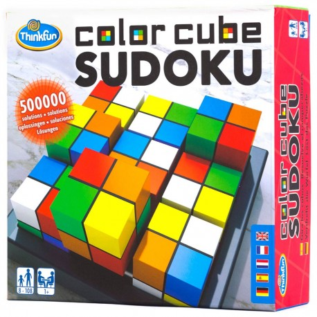 Color Cubes Sudoku, Thinkfun
