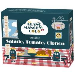 Blanc Manger Coco: Salade, Tomate, Oignon