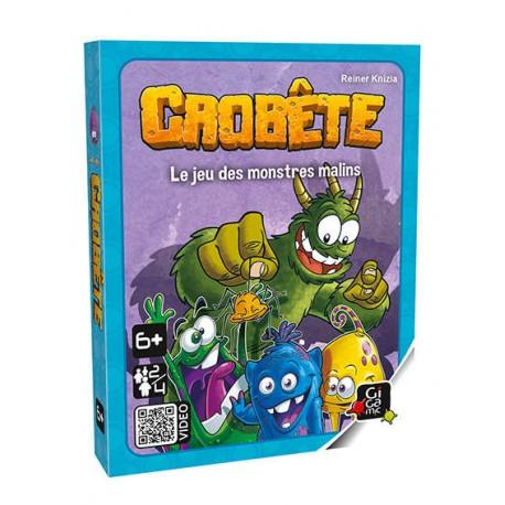 Crobête, Gigamic : le jeu des pt'its monstres malins