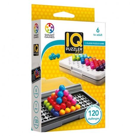 IQ Puzzler Pro, Smart Games : 120 défis sous 3 modes de jeu, ... des défis en 2D qu'en 3D