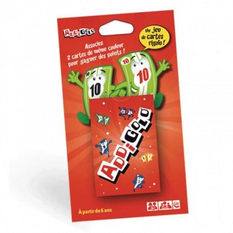 Addigolo, Associez 2 cartes de même couleur pour gagner des points !