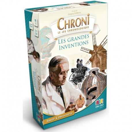 Chronicards: inventions et découvertes