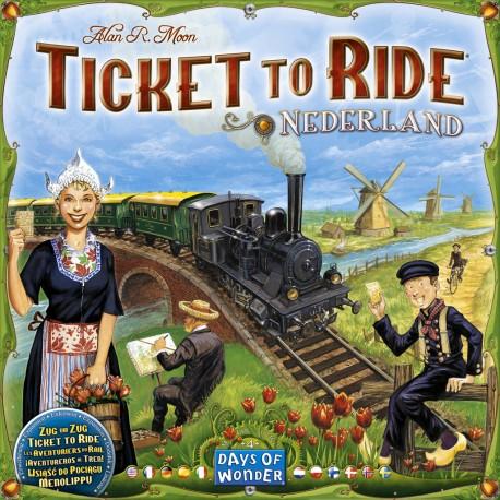 Les Aventuriers du rail, Pays Bas, Days of Wonder