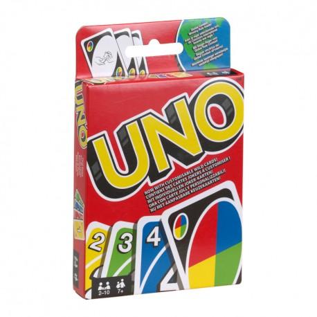 jeu du Uno, Mattel, avec cartes joker à personnaliser