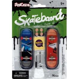 Skate doigt axe métal (x2)