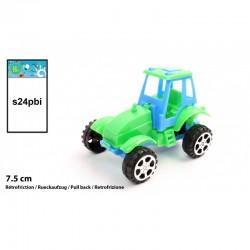 Tracteur 7,5 cm vert Rétro-friction