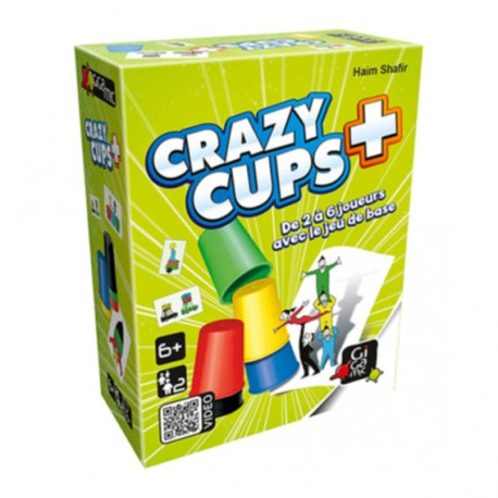 Crazy Cups Plus, version duo, Gigamic