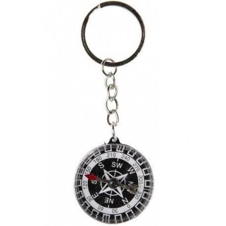 porte clé boussole 3,5 cm de diamètre