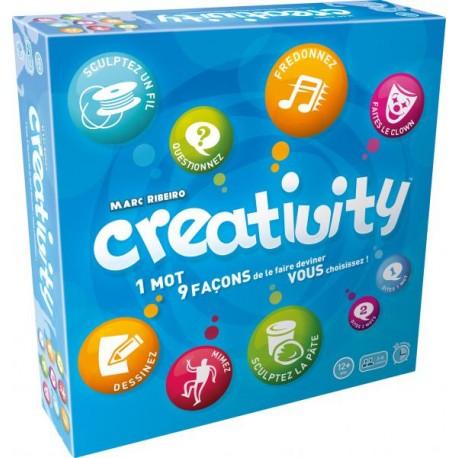 Creativity : 1 mot, 9 façons de le faire deviner : vous choisissez !