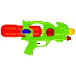 Pistolet à eau, 34 cm, double jet, réservoir amovible