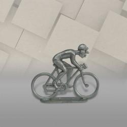Cycliste métal plat sprinteur brut Long Nez