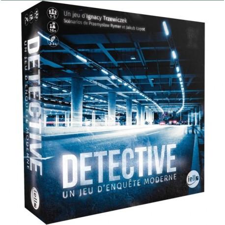 Détective, un jeu d'enquête moderne, vous êtes un enquêteur