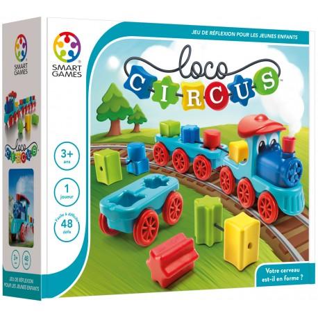 Loco Circus, Smart Games, jeu de logique pour les tout petits