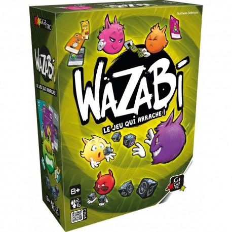 Wazabi, Gigamic, le jeu de dés qui arrache !