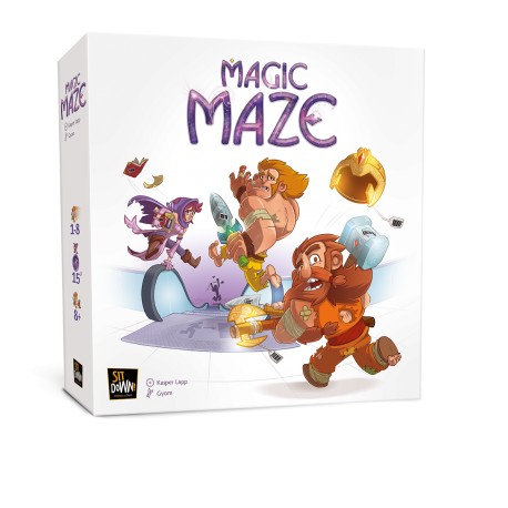 Magic Maze, Sit Down : un jeu coopératif en temps réel