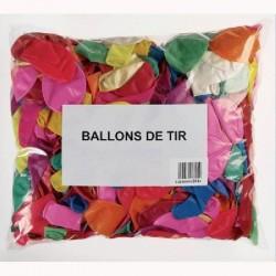 500 ballons de tir