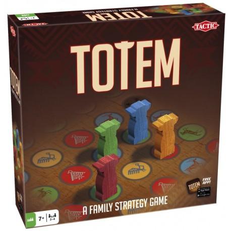 Totem, Tac Tic. Fais traverser le plateau de jeu à ton pion Totem