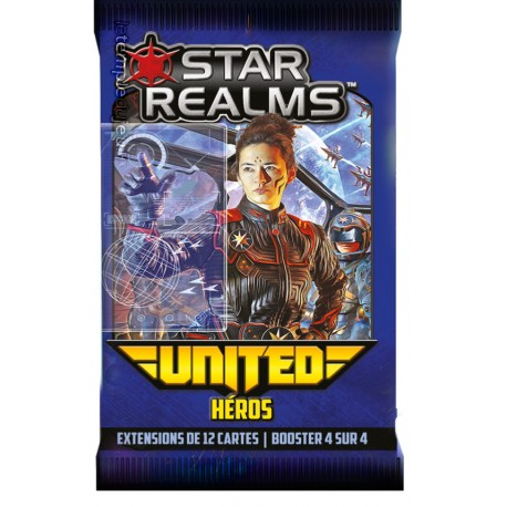 Star Realms, Iello, extension United Héros