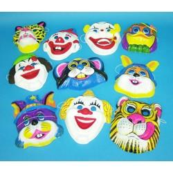 Masque clown/animal