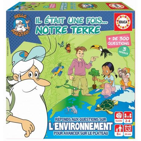 Mini-jeu: Il était une fois la Terre, Educa Borras