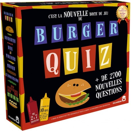 Burger Quizz, Dujardin : Mayonnaise contre Ketchup