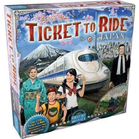 Les aventuriers du rail, Italie et Japon, Day of Wonders