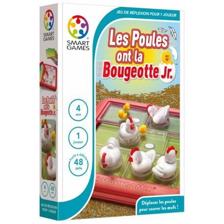 Les poules ont la bougeotte Junior : pagaille au poulailler, plus de poule pour couver