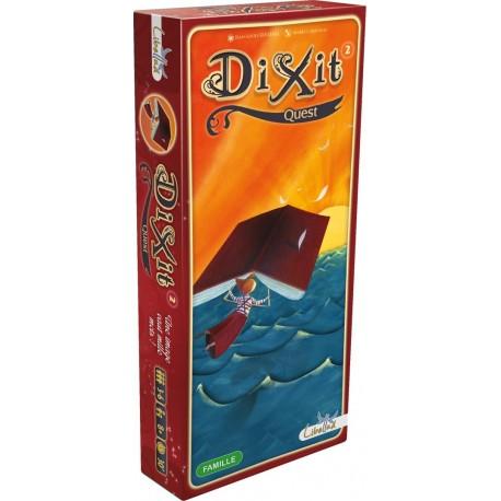 Dixit Quest, Libellud compléte le jeu de base DIXIT ou DIXIT ODYSSEY