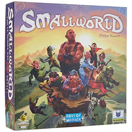 SmallWorld, Days of Wonder : civilisations dans un monde fantastique