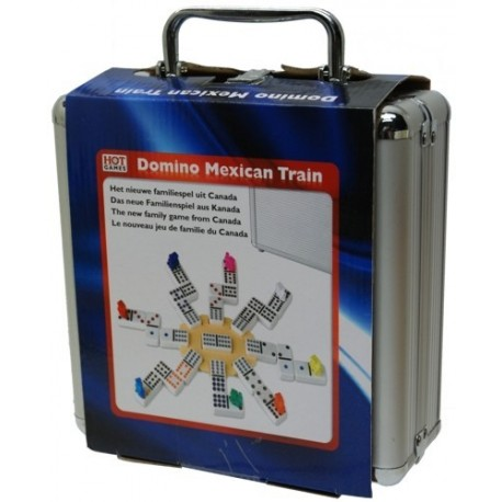 Le Train Mexicain, valise en alu