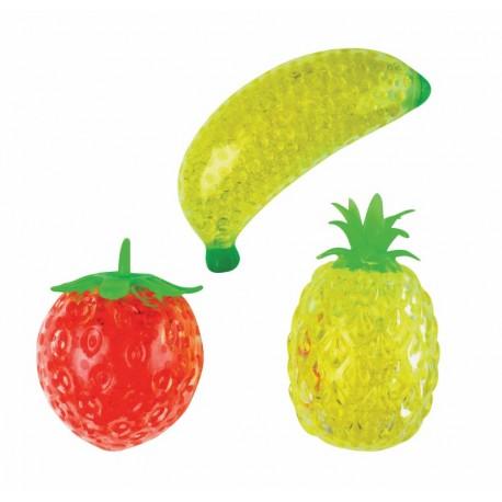Fruit anti-stress à malaxer 8 à 13 cm selon les modèles