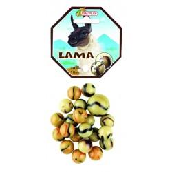 20 billes + 1 calot Lama