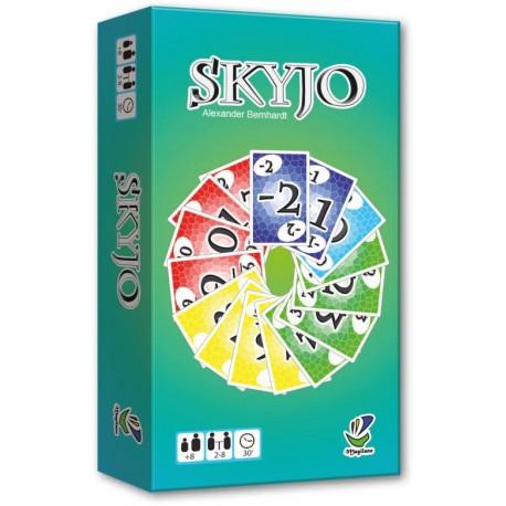 Skyjo, un jeu de cartes haut en couleur