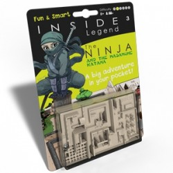 Inside Legend Vert : the ninja and the masamume katana