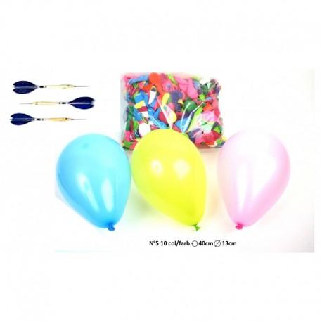 Ballons de tir (x2000) calibre n°5, diamètre 13 cm