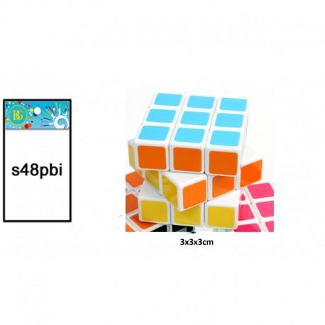 Jeu de patience cube 3x3x3 cm