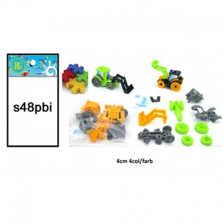 Véhicule TP, puzzle à monter 4 cm