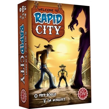 Rapid City, éditions BTG : shériff, indiens et bandits dans la même boite