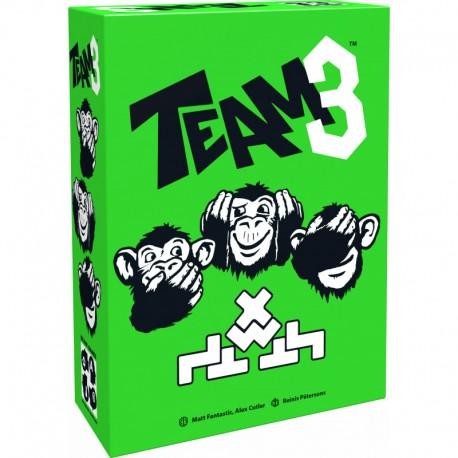 Team 3 vert, Brain Games, une équipe de 3 singes qui doit communiquer