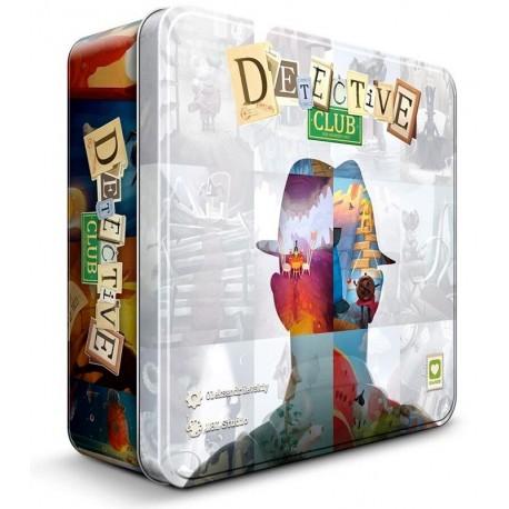 Detective Club : jeu d'ambiance avec imagination, improvisation, bluff