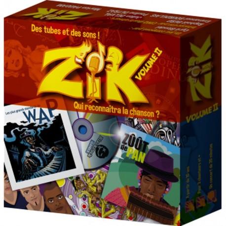 Zik, volume 2 : nouveaux titres, onomatopées et illustrations