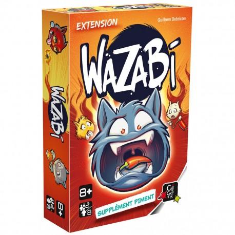 Wazabi, extension supplément piment, Gigamic