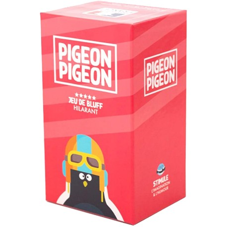 Pigeon Pigeon, Party Games, un jeu de bluff hilarant, simple et stratégique !